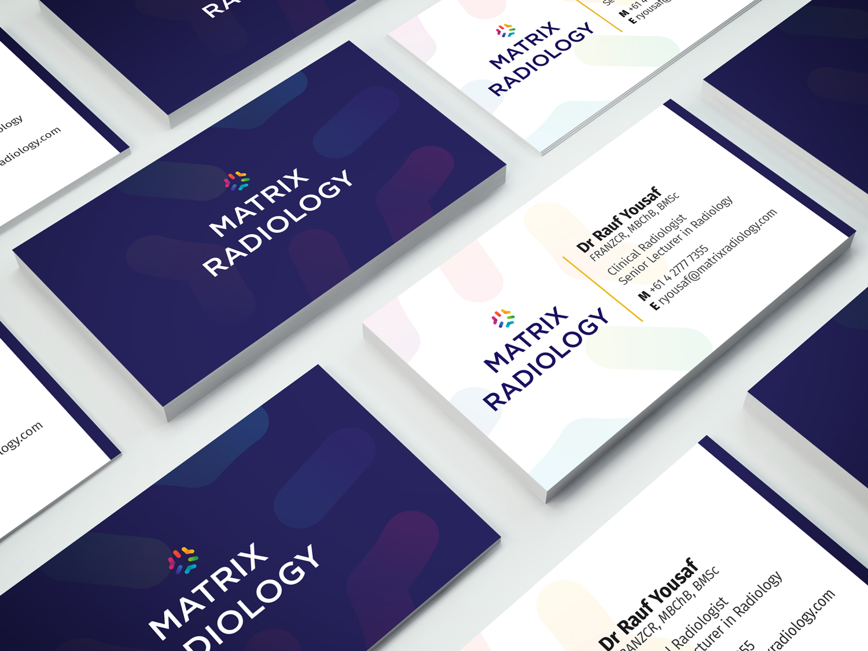 Radiologist Business Card | Max Hirtz | Print & Digital Design
